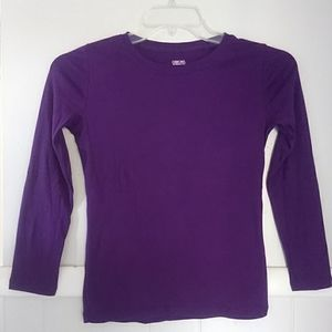 NWOT cherokee purple basic long sleeved tee